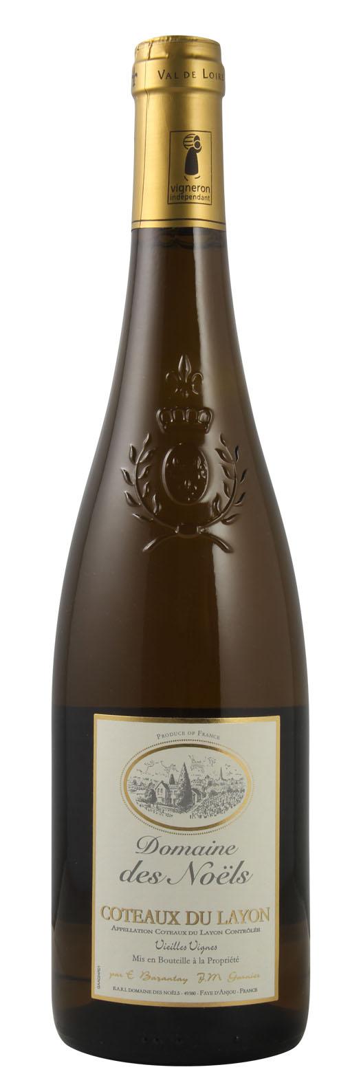 Coteau du Layon Wine Old Vines of the Christmas Domain